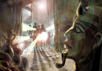 Shari Wickstrom's Characters / Creatures storyboard art