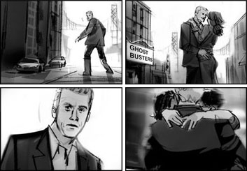Shari Wickstrom's Film/TV storyboard art