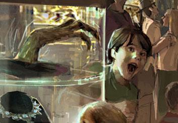 Shari Wickstrom's Kids storyboard art