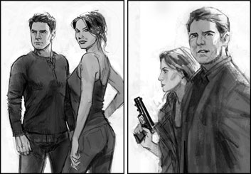 Shari Wickstrom's Likenesses storyboard art