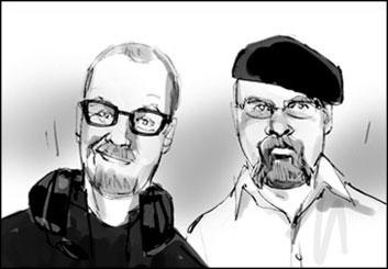 Shari Wickstrom's Likenesses storyboard art
