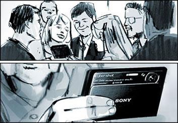 Shari Wickstrom's Products storyboard art