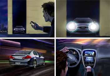 Shari Wickstrom's Vehicles storyboard art