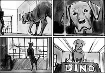 Shari Wickstrom's Wildlife / Animals storyboard art