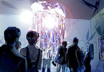 Shari Wickstrom's Conceptual Elements showcase art