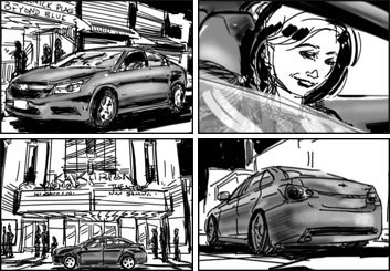 Micah Brenner*'s Vehicles storyboard art
