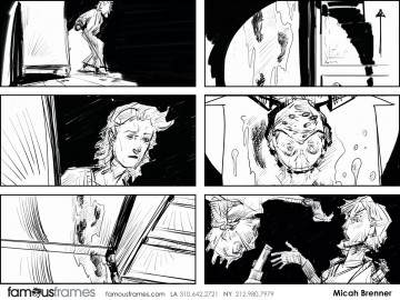 Micah Brenner*'s Film/TV storyboard art