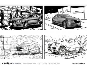 Micah Brenner*'s Vehicles storyboard art