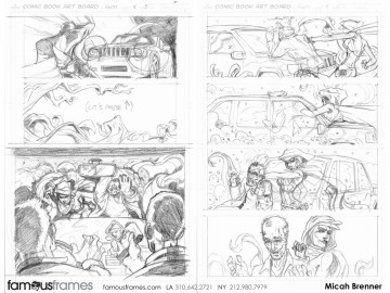 Micah Brenner*'s Comic Book storyboard art