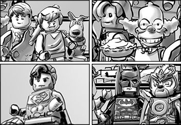 Micah Brenner*'s Characters / Creatures storyboard art
