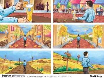 Tim Holtrop's Environments storyboard art