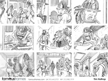 Tim Holtrop's Film/TV storyboard art