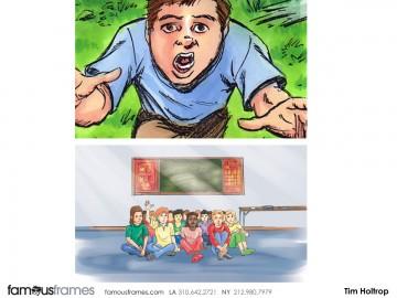 Tim Holtrop's Kids storyboard art