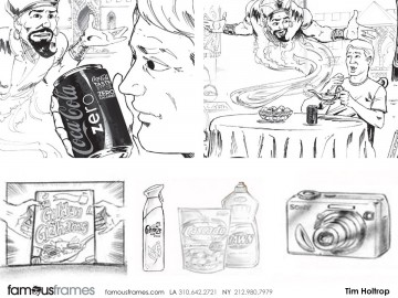 Tim Holtrop's Products storyboard art