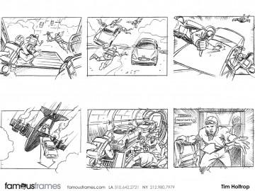 Tim Holtrop's Shootingboards storyboard art
