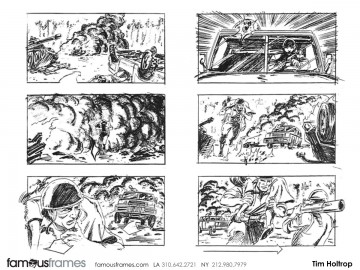 Tim Holtrop's Shootingboards storyboard art