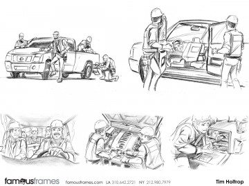 Tim Holtrop's Vehicles storyboard art