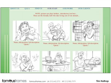 Tim Holtrop's Illustration storyboard art