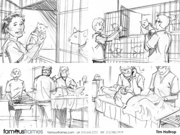Tim Holtrop's Wildlife / Animals storyboard art