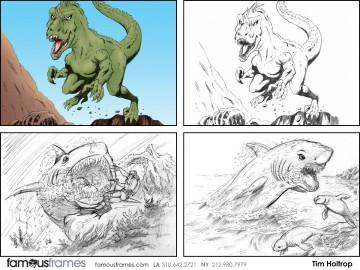 Tim Holtrop's Wildlife / Animals storyboard art