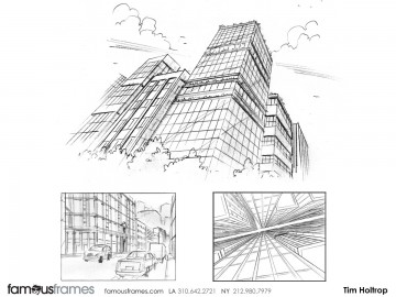 Tim Holtrop's Architectural storyboard art