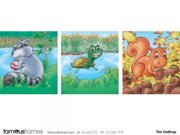 Tim Holtrop's Characters / Creatures storyboard art