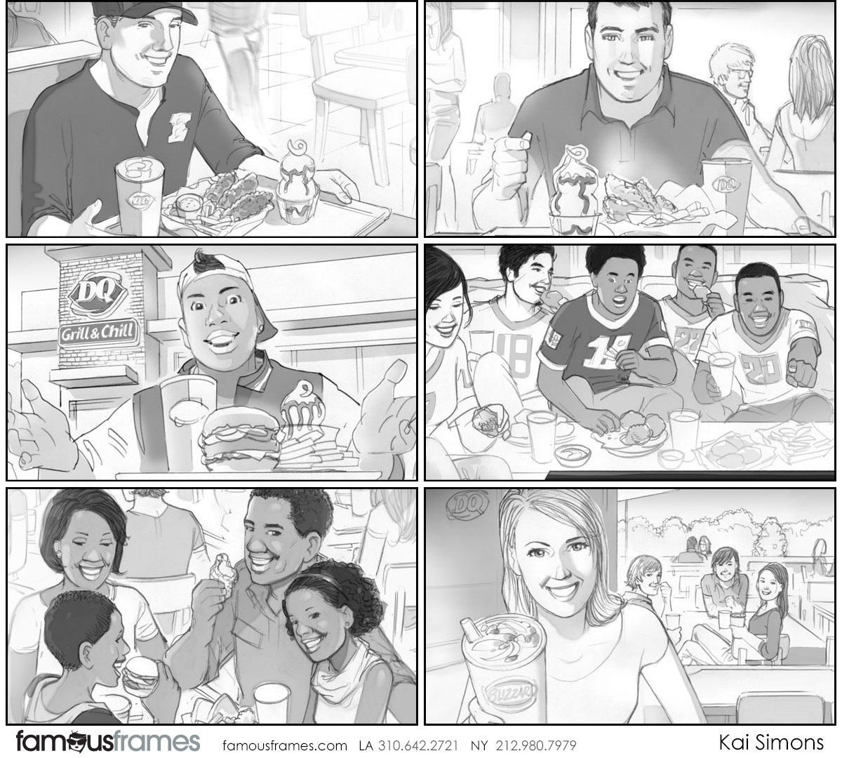 Kai Simons's People - B&W Tone storyboard art (Image #1352_113_1510275821)