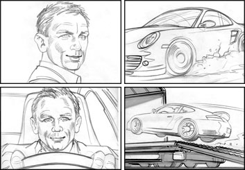 Kai Simons's Shootingboards storyboard art