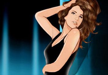 Kai Simons's Beauty / Fashion storyboard art