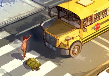 Kai Simons's Environments storyboard art