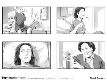 Stuart Godfrey's People - B&W Tone storyboard art