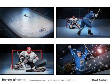 Stuart Godfrey's Sports storyboard art