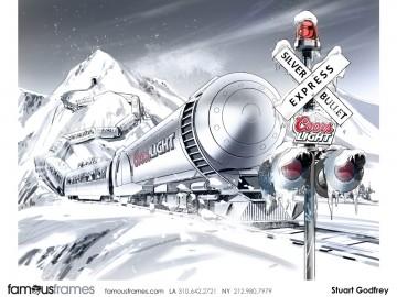 Stuart Godfrey's Vehicles storyboard art
