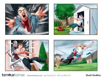 Stuart Godfrey's Action storyboard art