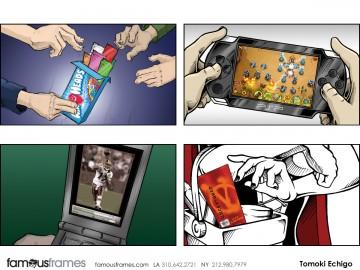Tomoki  Echigo's Products storyboard art
