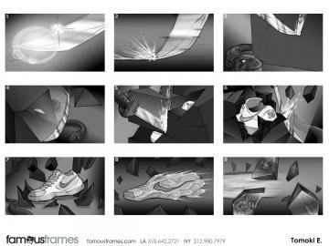 Tomoki  Echigo's Sports storyboard art