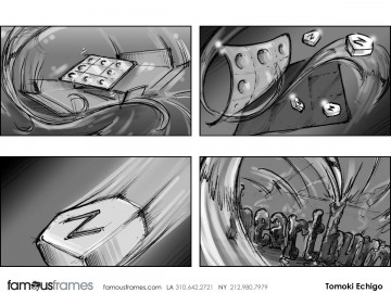 Tomoki  Echigo's Pharma / Medical storyboard art