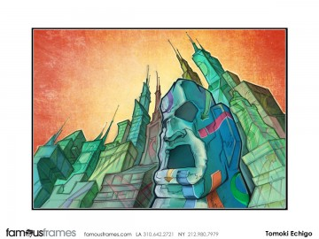 Tomoki  Echigo's Illustration storyboard art