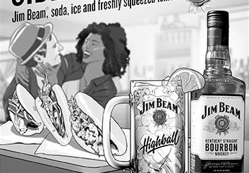 Victor Gatmaitan's Print Comps storyboard art