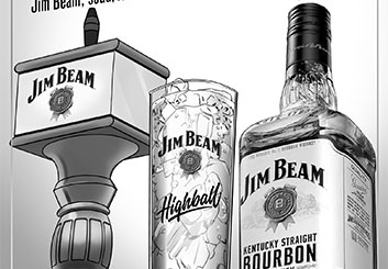 Victor Gatmaitan's Products storyboard art