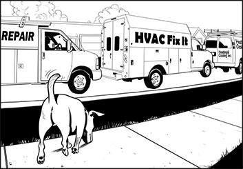 Victor Gatmaitan's Vehicles storyboard art