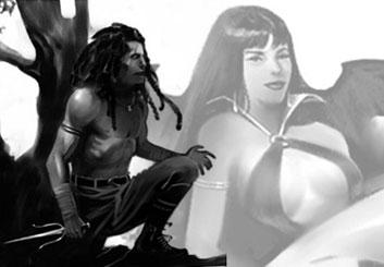 Victor Gatmaitan's Characters / Creatures storyboard art