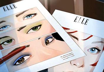 Victor Gatmaitan's Beauty / Fashion storyboard art