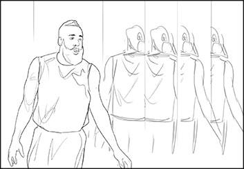 Peter Vu's Likenesses storyboard art