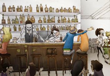 Peter Vu's Characters / Creatures storyboard art