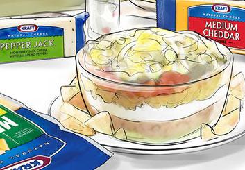Peter Vu's Food storyboard art