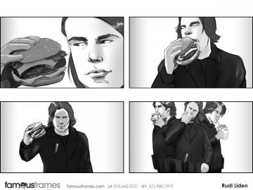 Rudi Liden's People - B&W Tone storyboard art