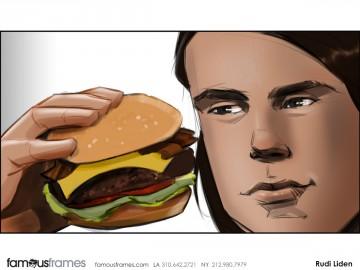Rudi Liden's Food storyboard art