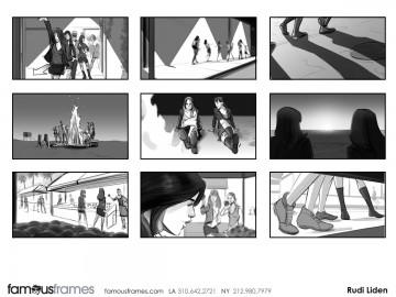 Rudi Liden's Shootingboards storyboard art