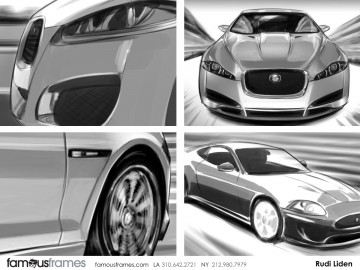 Rudi Liden's Vehicles storyboard art